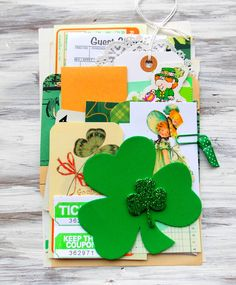 Are you feeling a little green? I sure am! Recently I pulled out some great items and got to work creating another fun kit for my shop.