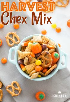 Harvest Chex Mix recipe from The Country Cook
