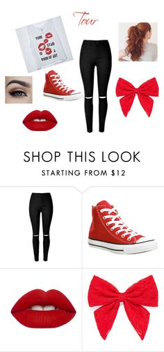 """""""outfit #7 (story)"""" by ash-237 on Polyvore featuring Converse, Lime Crime and Carole"""
