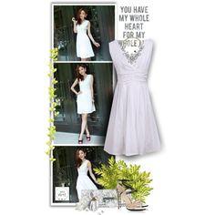 """My whole heart - DressWe Fashion"" by christiana40 on Polyvore"