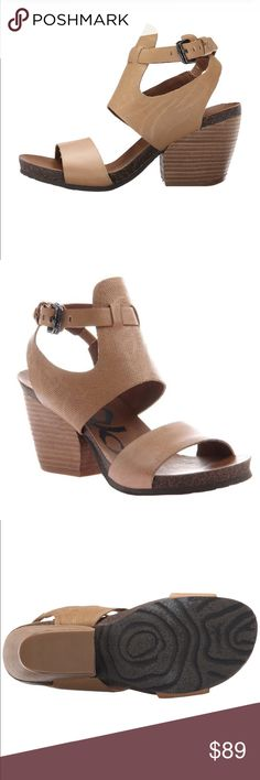 OTBT Lee gladiator sandals Sahara colored sandals by OTBT. Very cute and comfortable. ❤️️❤️️ OTBT Shoes Sandals