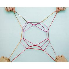 String Games Book. This easy-to-learn collection of string figures and games comes with step-by-step instructions and close-up color photographs of hands manipulating the different colored strings. String Games will introduce kids to string figures from a variety of cultures around the world while helping them build dexterity.