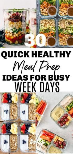 Quick Easy Healthy Meals, Healthy Snacks, Healthy Breakfast Meal Prep, Healthy Meal Prep Lunches, Weekly Lunch Meal Prep, Week Of Healthy Meals, Budget Meal Prep, Healthy Weekly Meal Plan, Healthy Eating Meal Plan