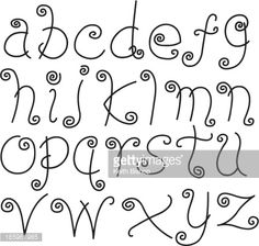 165961985-doodle-font-letters-lower-case-alphabet-text-gettyimages.jpg (425×404)