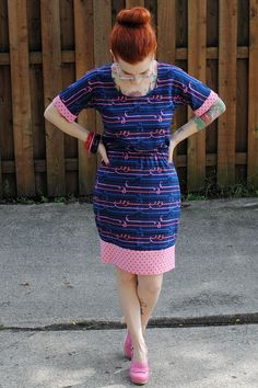 d32ff8921c4 My Bettine hack tutorial at Sew Your Hart Out (and more of my new dress  here)