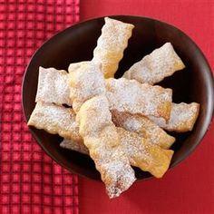 Italian Cenci Cookies Recipe