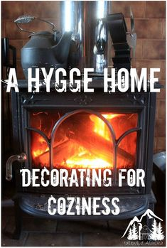 I recently discovered Danish hygge. It's all things cozy, warm, and happy. For our dark Alaskan winters, I decided to turn our cabin into a hygge home. Konmari, Hygge Life, Cozy Living, Simple Living, Minimal Living, Easy Home Decor, Cozy House, Decoration, Home Interior Design