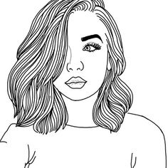 aesthetic, art, and doodle image Tumblr Girl Drawing, Tumblr Sketches, Girl Drawing Sketches, Tumblr Drawings, Girl Drawings, Cartoon Drawing Tutorial, Cartoon Girl Drawing, Cartoon Drawings, Cute Drawings