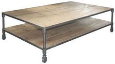 urbn 2.0 coffee table with casters - ABC Carpet & Home