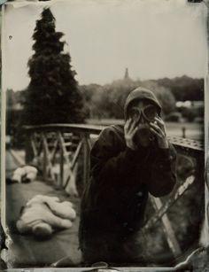 The Scream by Gordon Fraser 8.5″ x 6.5″ Ambrotype