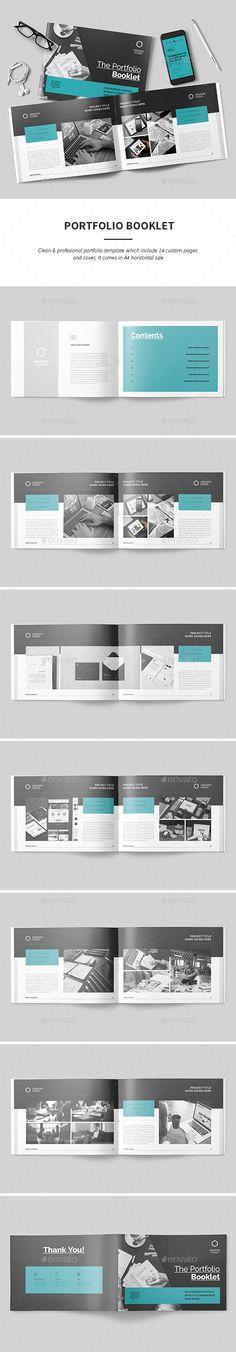 Portfolio  — InDesign Template #template #agency • Download ➝ https://graphicriver.net/item/portfolio/18525409?ref=pxcr