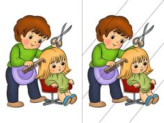 """ЛЕПБУК ЗА ТЕМОЮ """"СВІТ ПРОФЕСІЙ"""" Activities Of Daily Living, Activities For Kids, Spot The Difference Kids, People Who Help Us, Community Workers, Maze Puzzles, File Folder Games, Preschool, Education"""