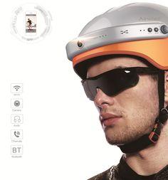 The versatile designs of #Airwheel #intelligent #helmet C5.