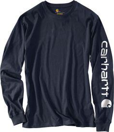 9991067ca1a Carhartt Men s Graphic Logo Long Sleeve Shirt