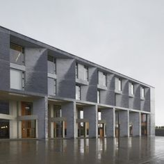 Medical School and Student Residences at  the University of Limerick by Grafton Architects
