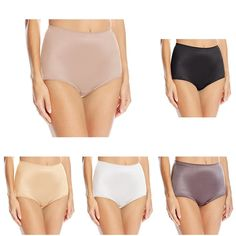 6ff5b05ac Women s Undershapers Light Control Brief 40001 -  Blush Black Steel White Latte Chocolate - C418CCEOWQA