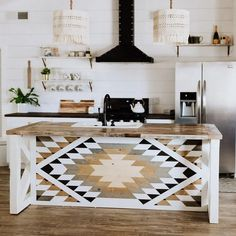 gorgeous apartment decor ideas made from wooden you can do 42 ~ IRMA The Design Files, Küchen Design, Quilt Design, Casa Muji, Home Interior, Interior Design, Diy Home Decor, Room Decor, Condo Decorating