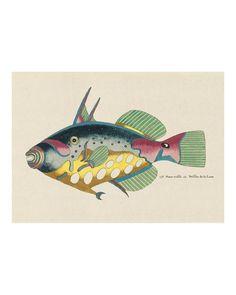 Folk Art Fish No9