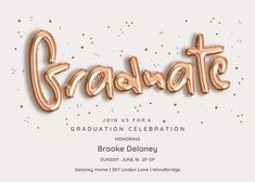 121 best graduation party invitation templates images on pinterest