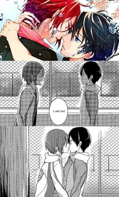 snippets from RinHaru Free! doujinshi - One More Romance by Overrunner