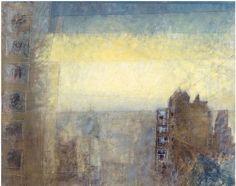 Lyonel Feininger, Manhattan Roofs on ArtStack #lyonel-feininger #art