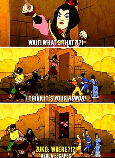 Yeah, the entire Fire Nation knows about Zuko's insecurities.