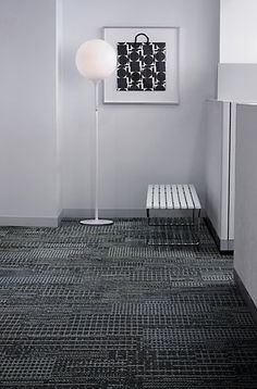 Interface CT111_Slate. office interiors carpet tile
