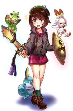 46 Best Female Trainers Images In 2018 Pokemon Pokemon Games Anime