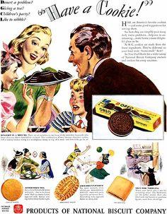 """""""Like to nibble?"""" Nabisco, """"Have a Cookie"""" (1938)"""
