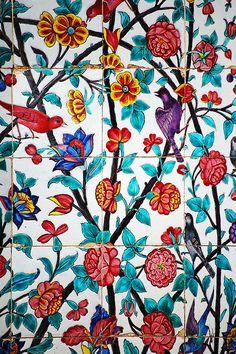 Gypsy Interior Design Dress My Wagon| Serafini Amelia| Art Tile| Iran, Shiraz