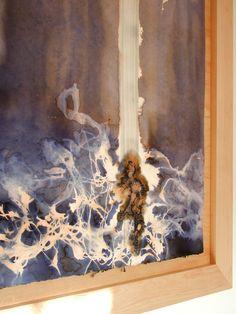 'Disturb'  #framedart. #Original #art by Hannah Mary at #allisnotlostart.