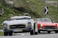 Mercedes war allgegenwärtig an der Passione Caracciola. 235 Fotos warten auf enthusiastische Betrachter: