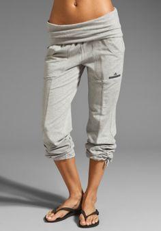 adidas by Stella McCartney Knit Pant in Medium Grey Heather from REVOLVEclothing.com