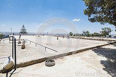Ruins of Cartagina - monument in Tunisia. Africa.