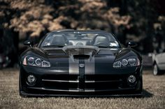 """automotivated: """" Saratoga Auto Museum Invitational (by Nolan Persons Photography) """" Dodge Viper, Dodge Challenger, Us Cars, Sport Cars, Dodge Muscle Cars, Classy Cars, Mopar Or No Car, Motor Car, Cars Motorcycles"""
