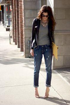 boyfriend jeans   Boyfriend Jeans Trend