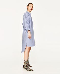 STRIPED TUNIC-View All-TOPS-WOMAN | ZARA United States