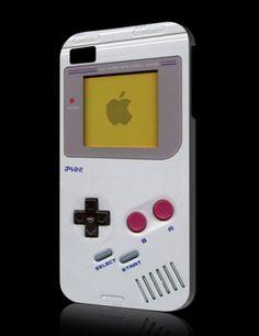 Coque iPhone 4 aux couleurs de la Gameboy