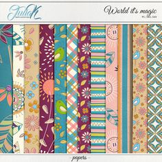 Digital Paper Pack Background | Flowers Paper Pack | Digital Paper Pack | Scrapbook Paper | INSTANT DOWNLOAD