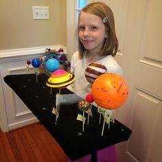 solar system diorama - Google Search
