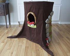 DIY Hula Hoop Gnome Home Playhouse