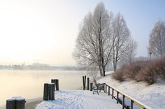 Winter at Hjellevannet by Jan Christensen2010, via Flickr City, Winter, Photography, Outdoor, Winter Time, Outdoors, Photograph, Fotografie, Cities