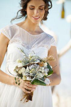 PHOTOGRAPHY: Chanelle Segerius-Bruce at Brilliant Studios - www.brilliantstudios.com  Read More: http://www.stylemepretty.com/destination-weddings/2014/04/01/handmade-destination-wedding-in-turks-caicos/