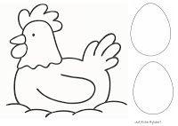 kip en het ei pasen