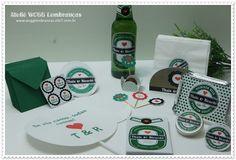 Confeccionamos todos os itens personalizados para a sua festa ficar ainda mais linda. <br> <br>Consulte-nos!