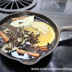 Make Your Own Autumn Boiling Spice