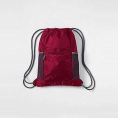 195d324302 Lands  End Red kids  packable drawstring bag