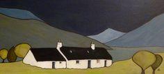 Prints Scotland : Blackrock Cottage