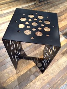 Custom Metal Table - Bullet by Chad Martin