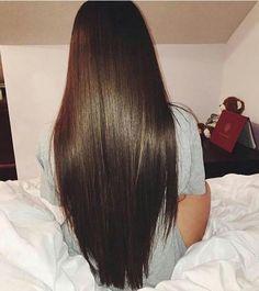 Permanent Hair Smoothening - New Site Long Curly Hair, Curly Hair Styles, Natural Hair Styles, Brown Blonde Hair, Dark Hair, Beautiful Long Hair, Gorgeous Hair, Pretty Hairstyles, Straight Hairstyles